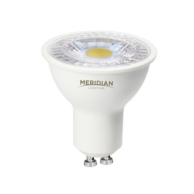 5W GU10 SMD PLAS FULL DIMMABLE 370Lm CW