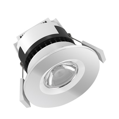 6W 550Lm IP65 FRD INTEGRATED Q/C CHROME