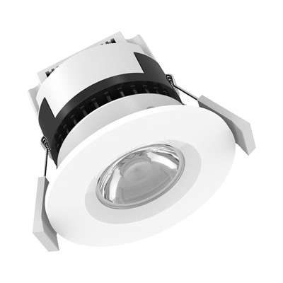 6W 580Lm IP65 FRD INTEGRATED Q/C -WHITE