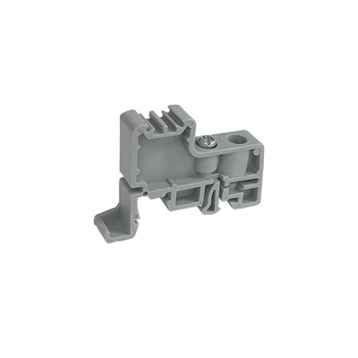 2.5mm2 - 35mm2 End Clamp - DIN Rail or 'C' Channel (Grey)